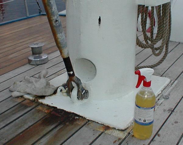 Mast etter overgang med Power Clean