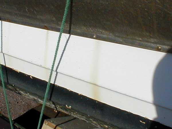 Fiskebåt før overgang med Power Clean