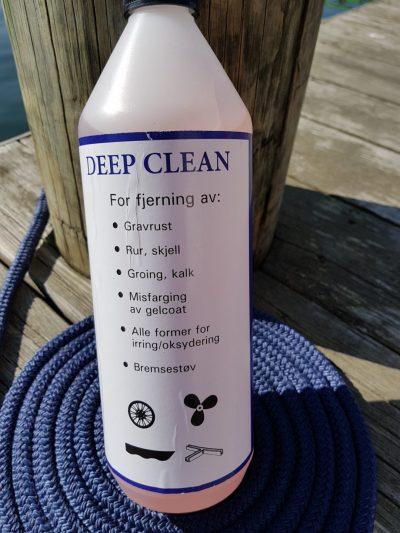 Deep Clean flaske